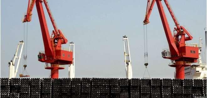 El exceso de oferta de acero chino causa problemas a otros países.