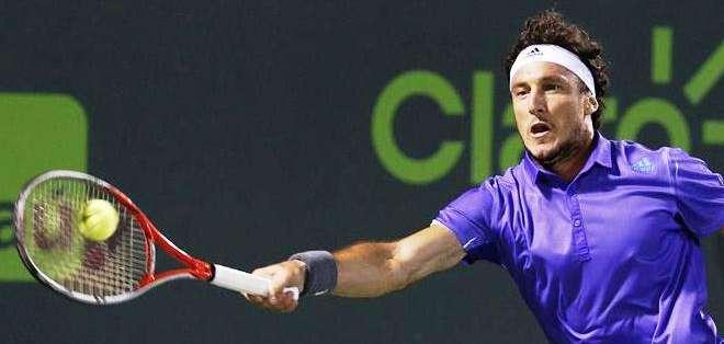 Mónaco en su participación en el torneo de Miami (Foto: EFE)