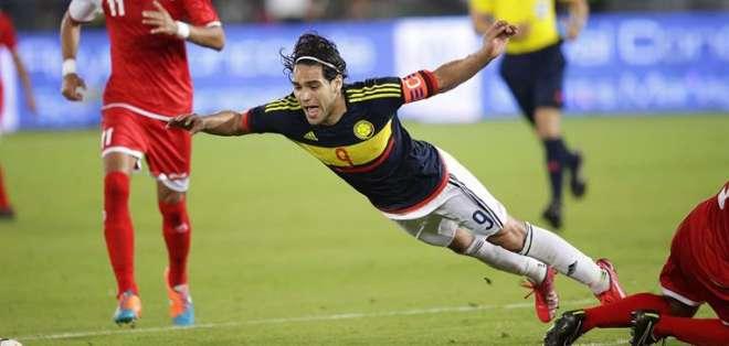 Al colombiano le cometieron una falta que se sancionó con penal. Foto: EFE.