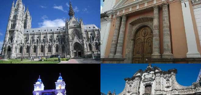 En este recorrido podrá conocer los secretos que esconden las fachadas de las iglesias más importantes de Quito.