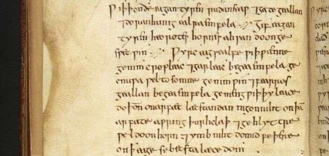 El Bald's Leechbook es uno de los libros médicos más antiguos conocidos.