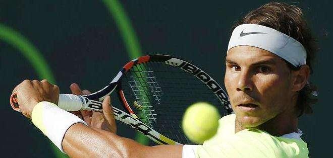 Rafael Nadal, el principal atractivo del torneo de Madrid (Foto: EFE)