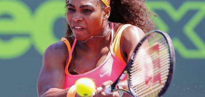 Serena Williams, tenista estadounidense, la número uno de Miami (Foto: EFE)
