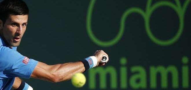 Novak Djokovic, sigue avanzando en Miami (Foto: EFE)