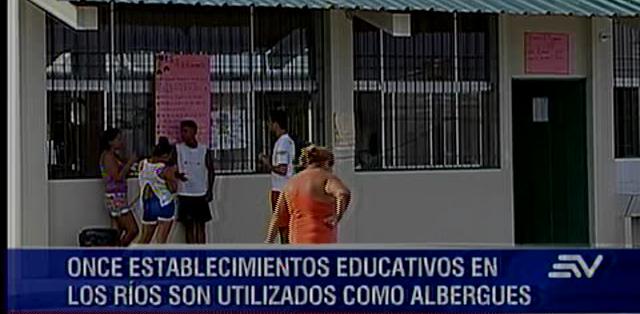 LOS RÍOS.- El Ministerio de Educación hará una evaluación para definir la apertura del ciclo escolar. Fotos: Capture.