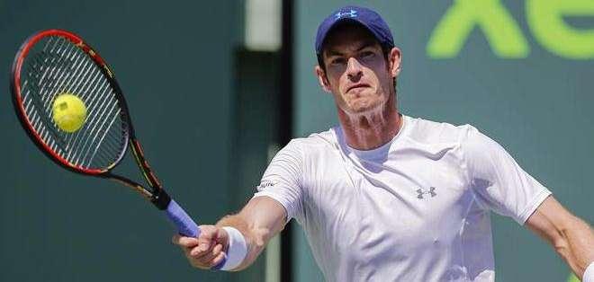Andy Murray sigue su camino en el torneo de Miami (Foto: EFE)