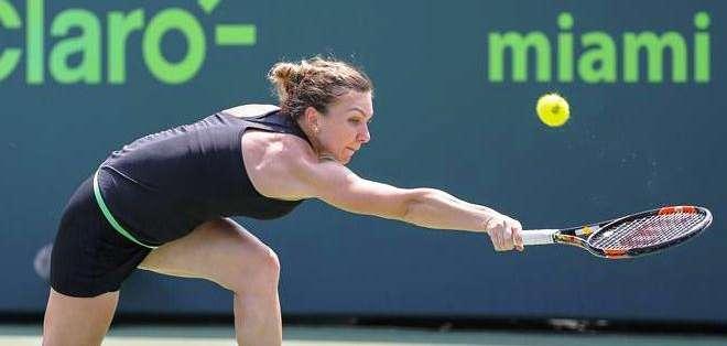Simona Halep, rival de Williams (Foto: EFE)