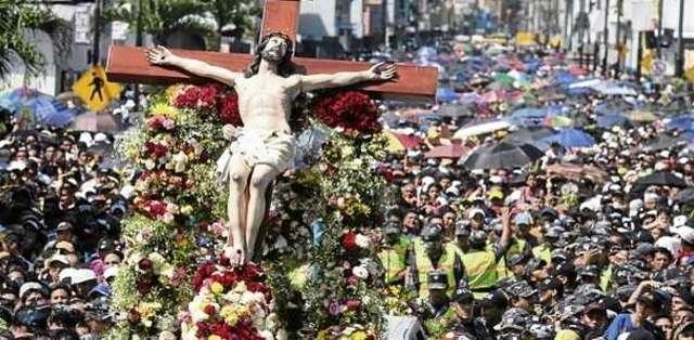 ECUADOR, Guayaquil.- Procesión del Cristo del Consuelo en el sur de la ciudad. Foto: Wikimedia Commons