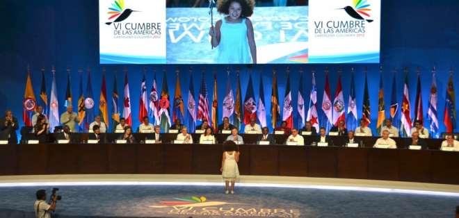 La VII Cumbre de Las Américas que tendrá lugar el 10 y 11 de abril en Panamá.