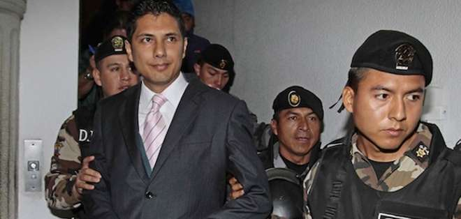 Actualmente se procesa a siete ciudadanos colombianos y se indaga a un policía ecuatoriano sobre el intento de secuestro a el exasambleísta. Foto: API.