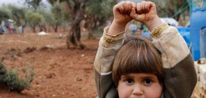 El fotógrafo turco Osman Sağırlı tomó la foto de la pequeña Hudea en diciembre de 2014.