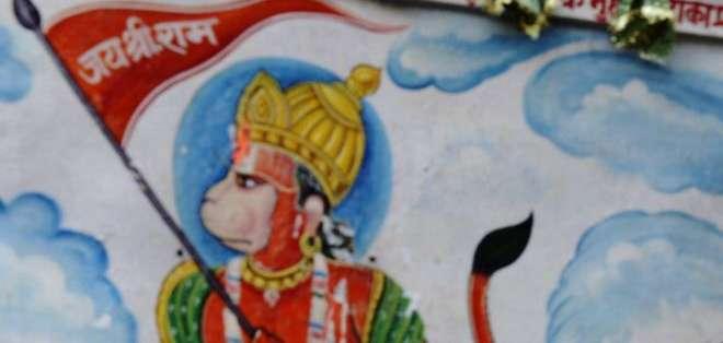 En Varanasi veneran a los macacos como deidades.