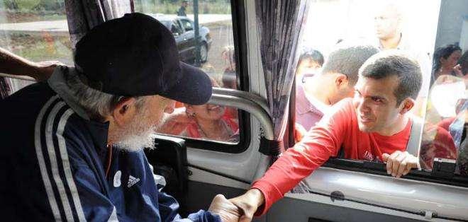 CUBA.- La última aparción pública del dirigente cubano fue el 8 de enero de 2014. Fotos: Granma.cu.