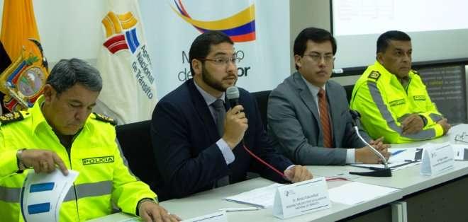 ECUADOR. Según el subdirector de la ANT, Alexis Eskandani, durante el feriado trabajaron de manera coordinada con la Policía Nacional y los gobiernos seccionales que asumieron las competencias de tránsito. Foto: ANT