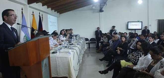 QUITO.- La próxima sesión de la comisión que tramita las enmiendas se realizará en Loja. Fotos: Twitter Asamblea.