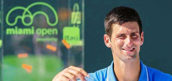 Novak Djokovic, número uno del ATP (Foto: EFE)