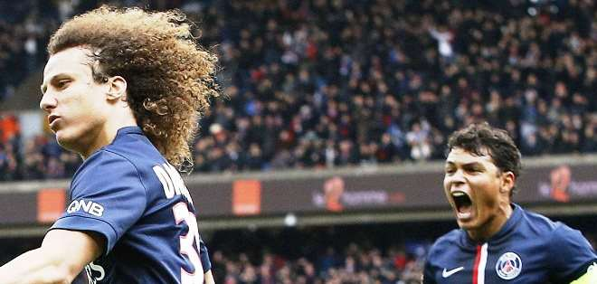 David Luiz y Thiago Silva, podría perderse el juego ante el Barcelona (Foto: Internet)