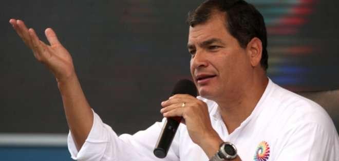 """ECUADOR. Correa, en su cuenta de Twitter escribió: """"Este viernes y sábado histórica Cumbre de las Américas en Panamá, primera vez con la presencia de nuestra querida Cuba"""". Foto: Archivo"""