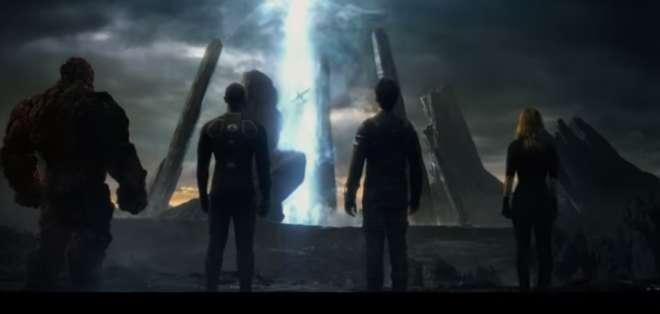 El estreno de los Cuatro Fantásticos esta prevista para agosto de este año.  Foto: Captura de Pantalla