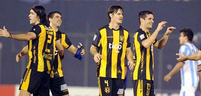 Guaraní, sigue con vida en la Copa Libertadores de América (Foto: EFE)