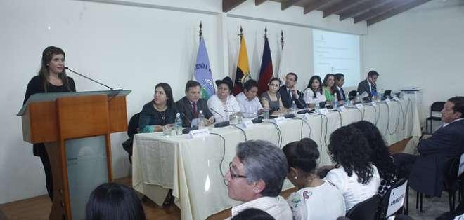 La comisión legislativa ha cumplido cinco socializaciones sobre las enmiendas constitucionales.
