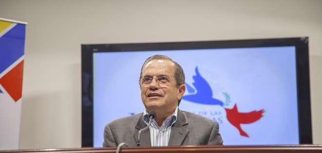 """19 exmandatarios iberoamericanos denunciaron supuesta """"alteración democrática"""" en Venezuela. Foto: Cancillería"""