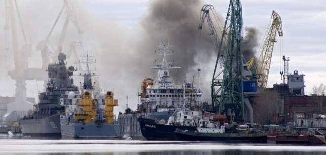 La acusación fue hecha tras considerar de actos agresivos los realizados por Rusia en Ucrania.