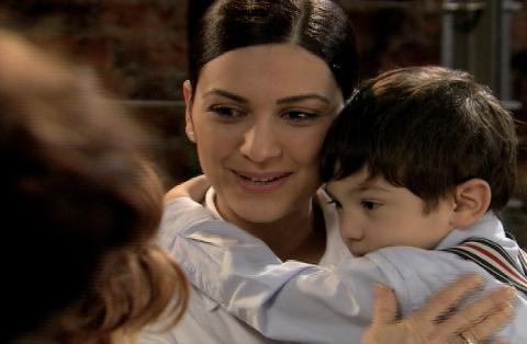 La telenovela fue grabada en el 2006, en esa época el pequeño actor tenía 4 años.