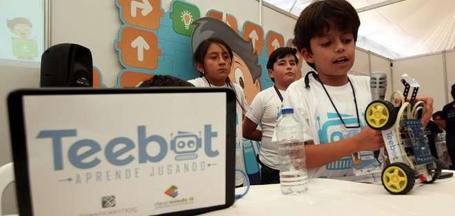 El próximo 21 de abril se realizará el lanzamiento internacional de Teebot. Fotos: Twitter @teebot_ec