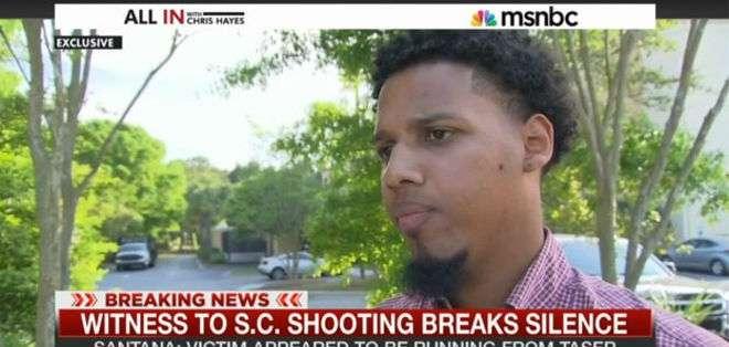El dominicano de 23 años reveló a la cadena NBC que fue él quien grabó el momento de la muerte de Walter Scott.