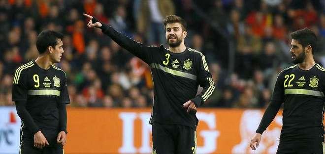 Así opinó el defensa del Barcelona. Foto: EFE.