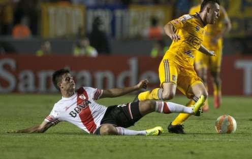 Tigres pese a no ganar aseguró su clasificación. Foto: AFP.
