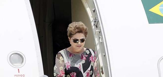 PANAMÁ.- Con Rousseff ya son 31 los jefes de Estado y de Gobierno que arriban para la cita continental. Foto: EFE