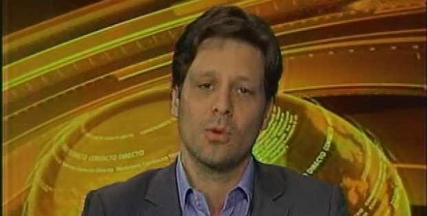 ECUADOR.- Guillaume Long durante su entrevista en Contacto Directo. Foto: Ecuavisa