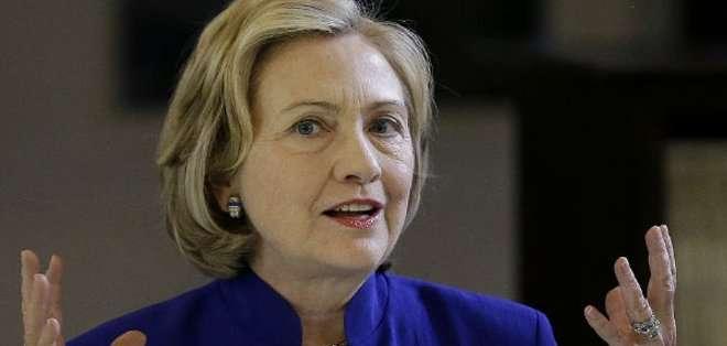 ESTADOS UNIDOS. Se rumorea que Hillary Clinton viajaría luego a Iowa, un estado clave del norte del país.