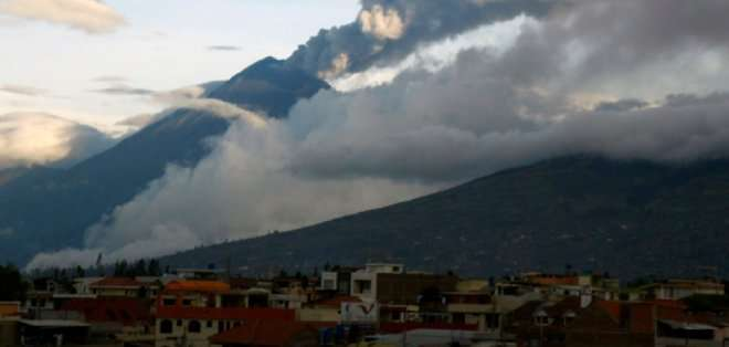 """ECUADOR. El instituto señaló que """"la tasa de sismicidad de ayer fue menor que lo observado el viernes, sin embargo, los sismos son un poco más grandes"""". Foto: API"""