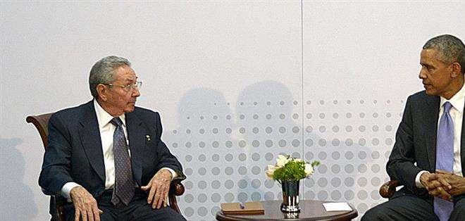PANAMÁ. Castro también instó a Obama a eliminar las políticas dirigidas a promover cambios en el sistema político y socioeconómico del país. Fotos: EFE