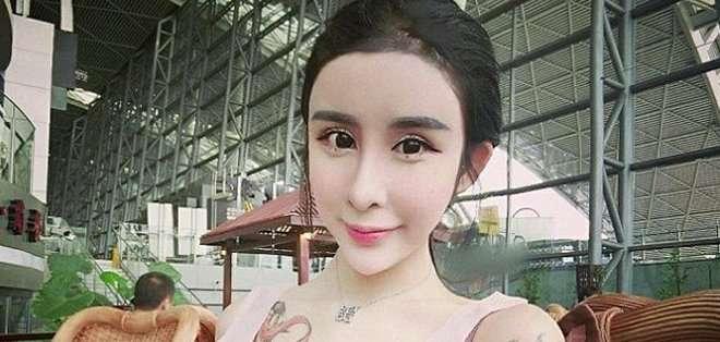 CHINA. Según medios locales, esta decisión se produjo después de romper la relación que mantenía con su novio. Foto: Weibo/Dane
