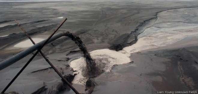 Con la irrupción de la minería el lago Baotou se transformó en un vertedero de desechos tóxicos con elevada presencia de componentes radioactivos.