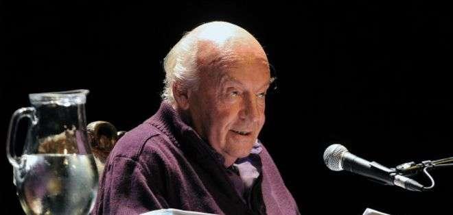 El escritor murió a los 74 años.