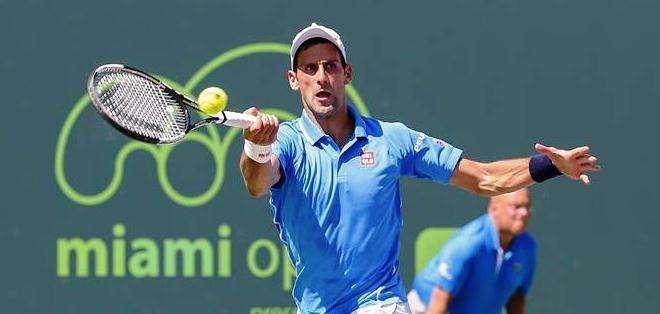 Novak Djokovic, durante su participación en el torneo de Miami pasado (Foto: EFE)