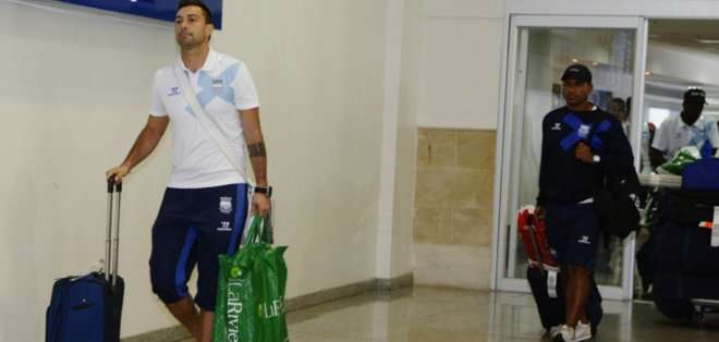 Emelec viajó a Bolivia para jugar por Libertadores.
