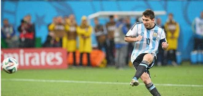 Galeano era u admirador del juego de Messi.