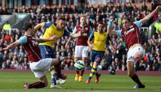 El jugador anotó el gol de la victoria ante Burnsley. Foto: AFP.
