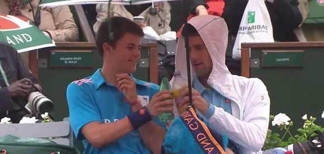 Esto hace que Djokovic sea uno de los jugadores más queridos del circuito.