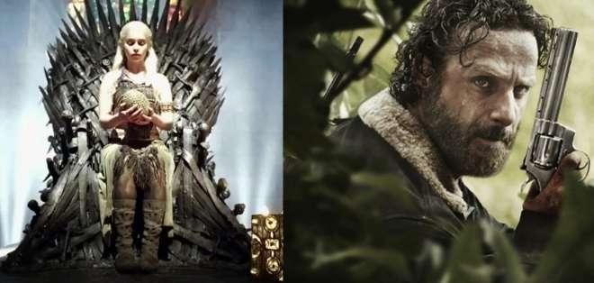 """Apesar del gran éxito de """"Game of Thrones"""", la serie de zombies se consolida como la más vista de la televisión."""