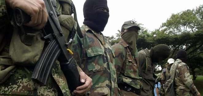 COLOMBIA. El Ejército no ha podido llegar a la zona donde se produjo el ataque debido a las difíciles condiciones de acceso al lugar, que es montañoso y selvático. Fotos: Archivo