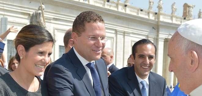 """""""Será un honor recibir al primer papa latinoamericano en la ciudad de Quito"""", dijo Rodas"""