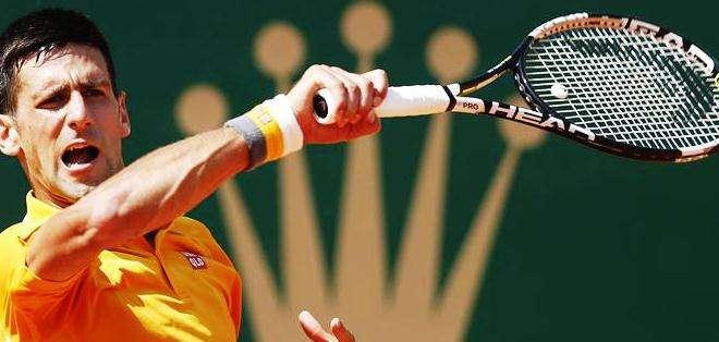 Novak Djokovic durante el torneo de Montecarlo (Foto: EFE)