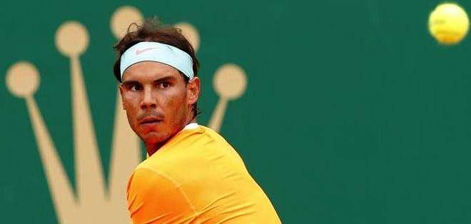 Rafael Nadal puso su nombre en los octavos de final de Montecarlo (Foto: EFE)
